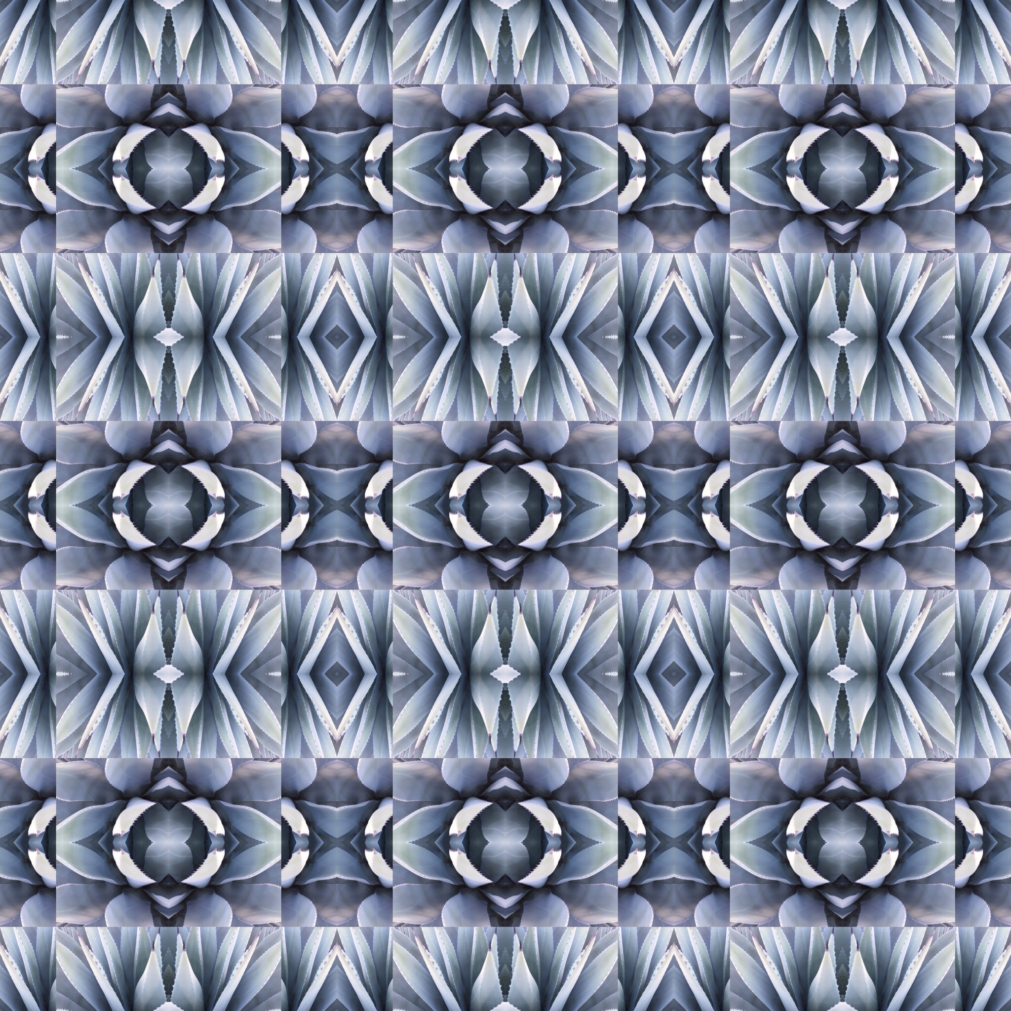 Fabric with a repeated design