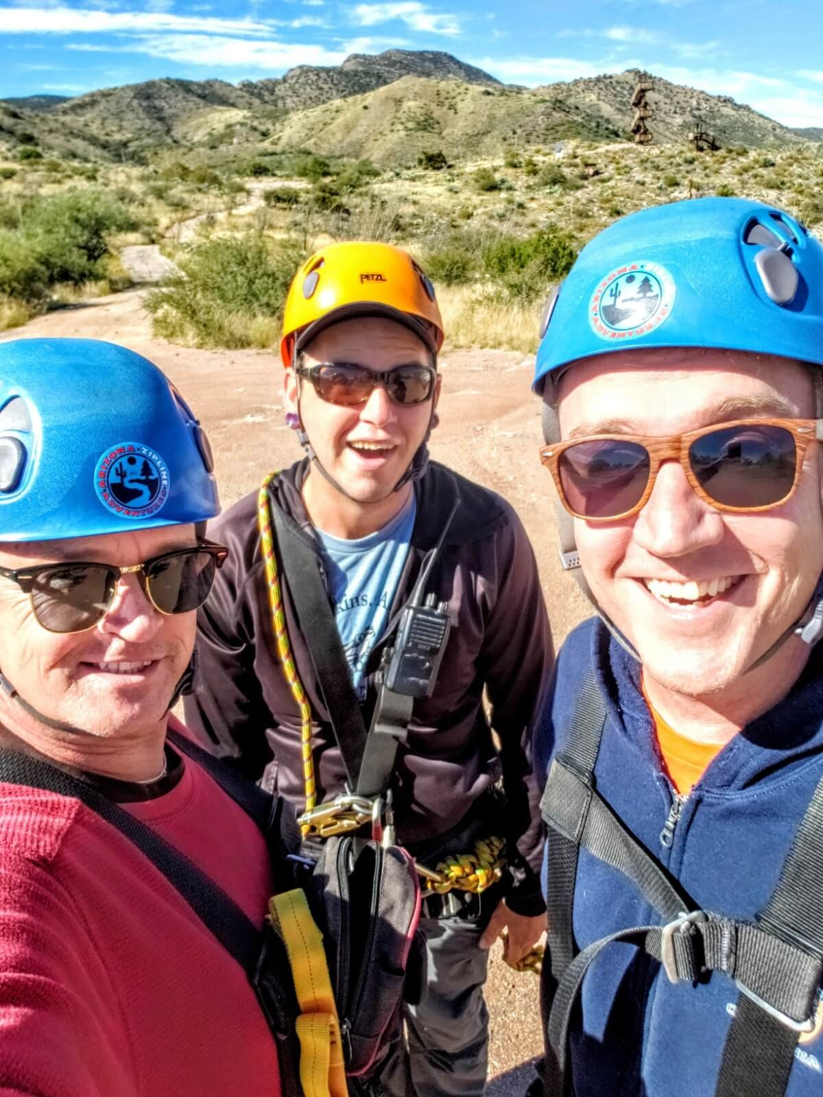 Arizona Zipline Adventures in Oracle, Arizona